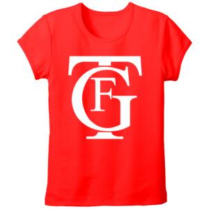 Camiseta de manga corta con logo del gran teatro Falla - Mujer talla grande