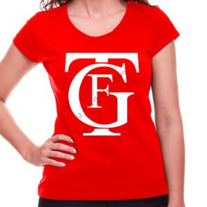 Camiseta de manga corta con logo del gran teatro Falla - Mujer