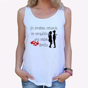 Camiseta tirante ancho, Yo me enamore de ti por culpa de los carnavales