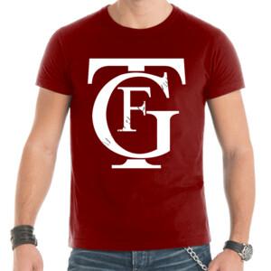 Camiseta con logo del gran teatro Falla letras en blanco