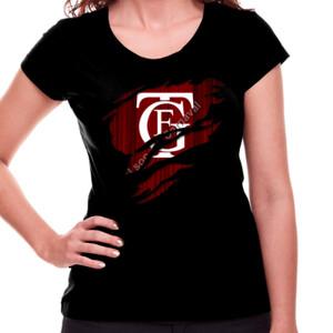 Camiseta negra de manga corta con el Logo GTF Saliendo del pecho