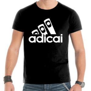Camiseta de manga corta con logo AdiCai