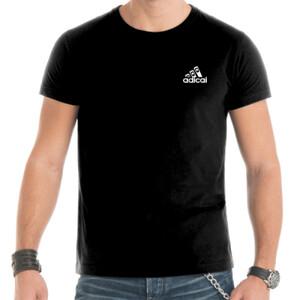 Camiseta manga corta con logo pequeño AdiCai Color Blanco