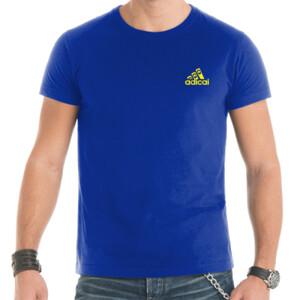 Camiseta mangas corta AdiCai logo pequeño letras amarillas