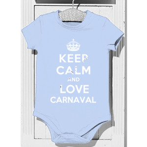 Body diseño Keep calm and love Carnaval