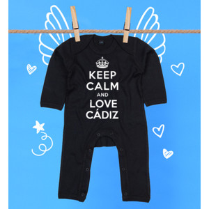 Pijama diseño Keep calm and love Cádiz